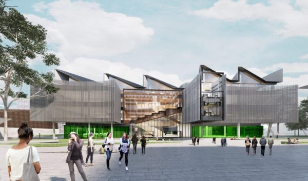 Construction Company Multiplex Has Been Appointed To Deliver The 206 Million Learning And Teaching Building At Monash University In Melbourne
