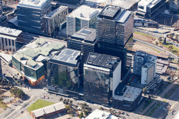 Multiplex delivers fourth Collins Square tower