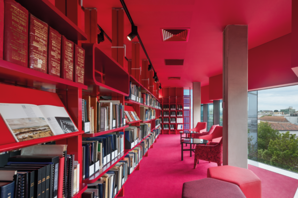 Geelong Library: reimagining the traditional library layout