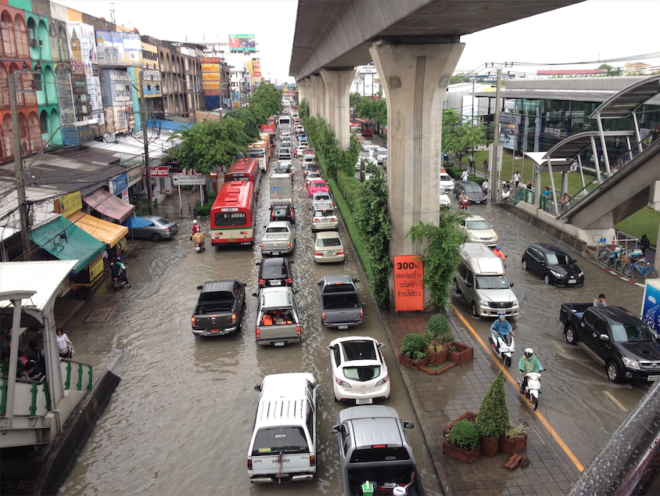 Flooding in Bangkok