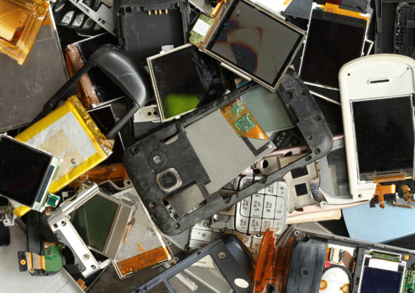 How is Telstra leading the way on electronics recycling?