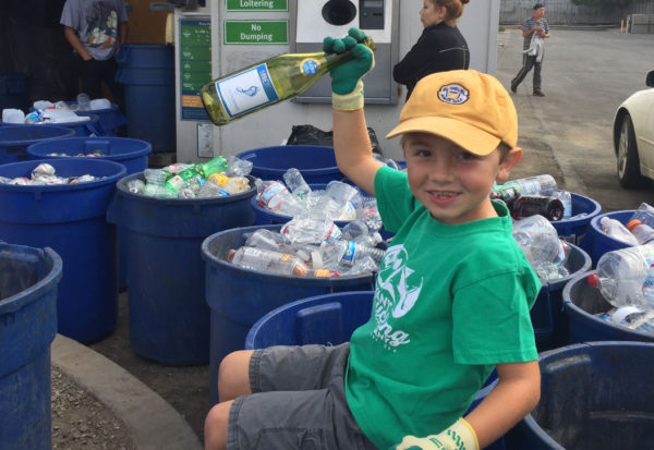 The seven-year-old who started his own recycling company