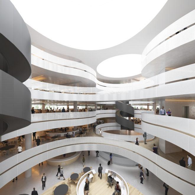 Atrium Space_ACT Gov Offices-constitution place
