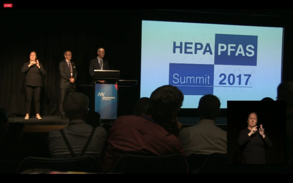 Watch: PFAS Summit keynote speeches