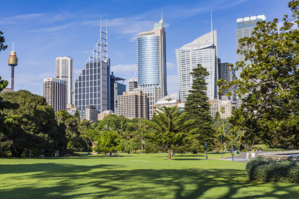 Sydney aims for net zero emissions by 2050