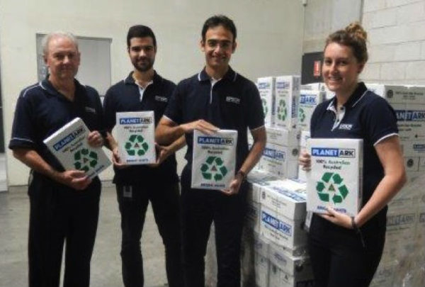 Epson chooses Planet Ark 100 percent recycled paper