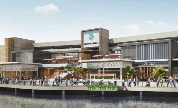 Sunshine Plaza will undergo a major redevelopment