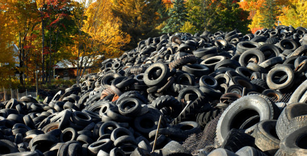 EPA fines Melbourne companies for illegal tyre stockpiles
