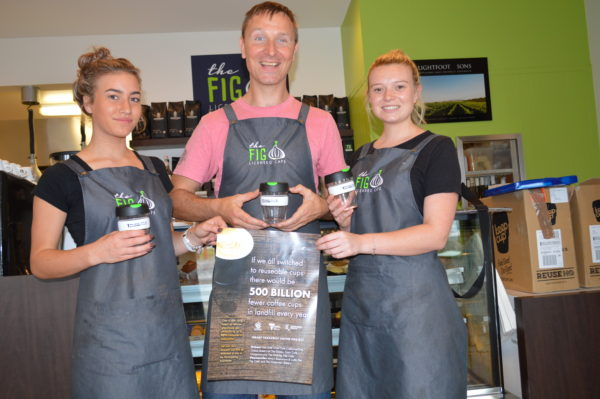 Conscious coffee: East Gippsland's project to combat takeaway beverage waste