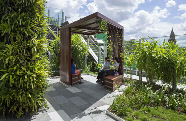 Stress less: the benefits of gardens in facilities