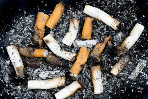 Cigarette butts can now be recycled into plastic products