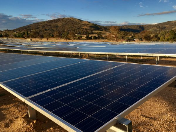 Williamsdale Solar Farm shows carbon-free economy is powering forward