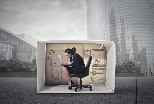 Downsizing: saving space as real estate shrinks