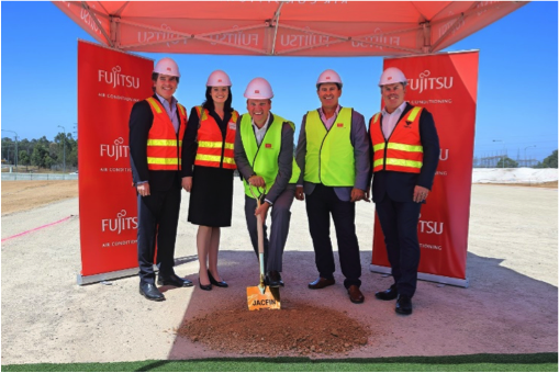 Fujitsu General's new headquarters in Western Sydney
