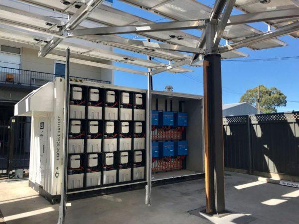 Redflow simplifies Large Scale Battery design