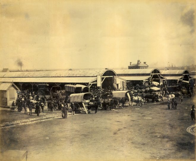 South Melbourne Market 1867