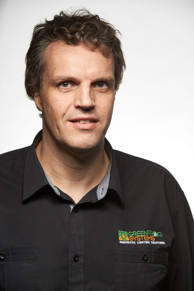 David Wilson, founder and CEO of Green Frog Systems