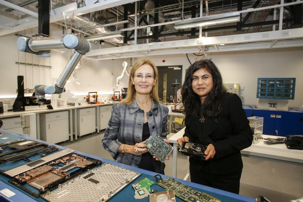 World's first e-waste microfactory launched at UNSW