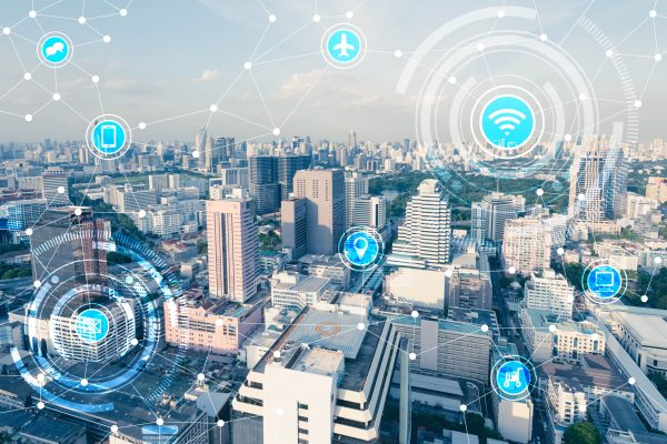 Smart buildings and connected urban environments