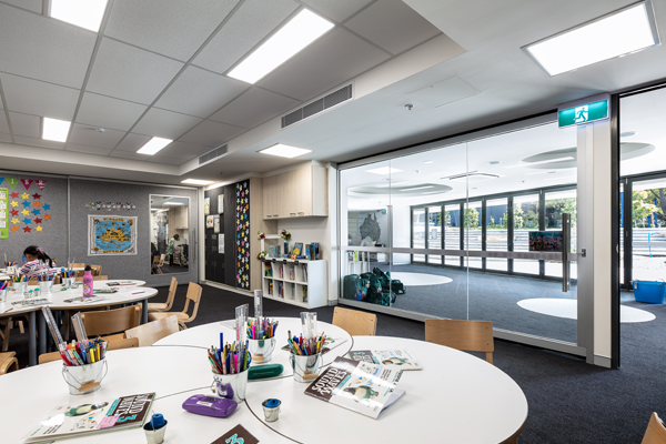 New immersive learning environments for Sydney school