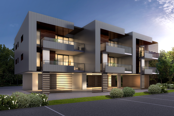 Cross Laminated Timber (CLT) features in NSW residential development