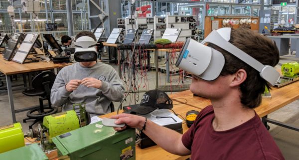 Virtual reality bridges gap between hazardous workplaces and the classroom