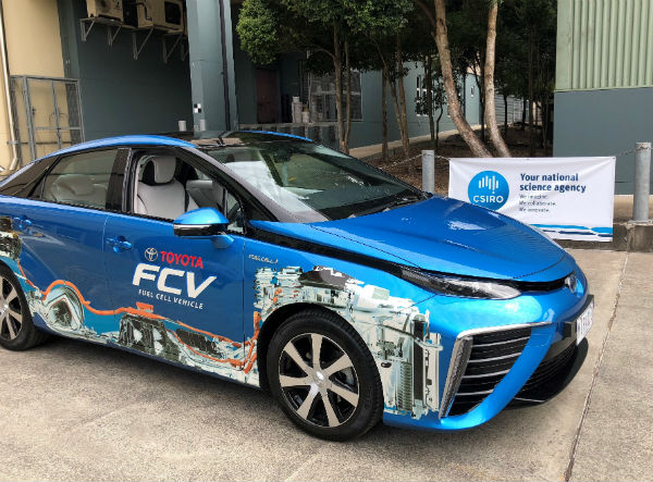 CSIRO tech accelerates hydrogen vehicle of the future