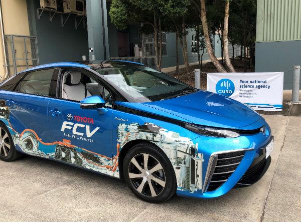 CSIRO tech accelerates hydrogen vehicle of the future