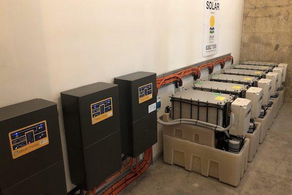 Darling Building beats energy shortfall with Redflow batteries