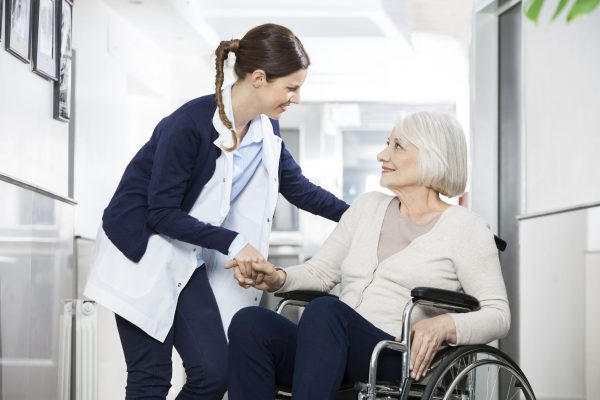Aged care facility's demand for equipped maintenance support