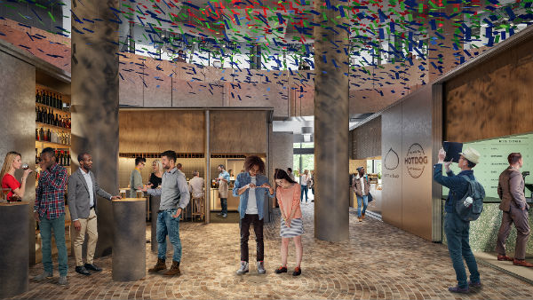 The new food hall: a day-to-night design