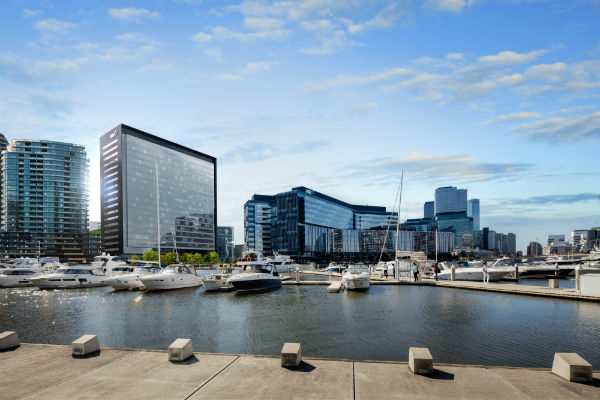 Lendlease welcomes QBE to Victoria Harbour