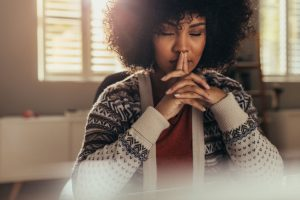 Practice mindfulness to address mental health in the office