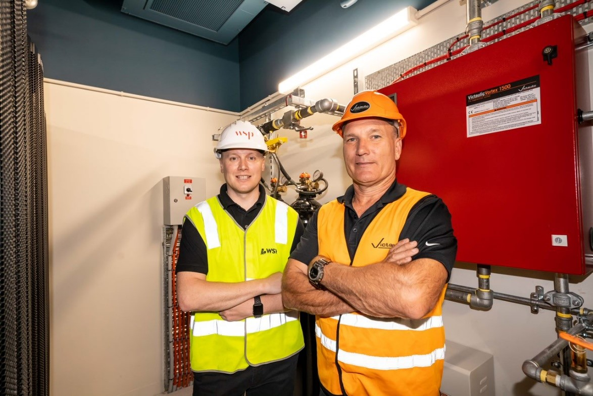 Victaulic Vortex fire suppression system chosen to fit out WSP's new Brisbane headquarters