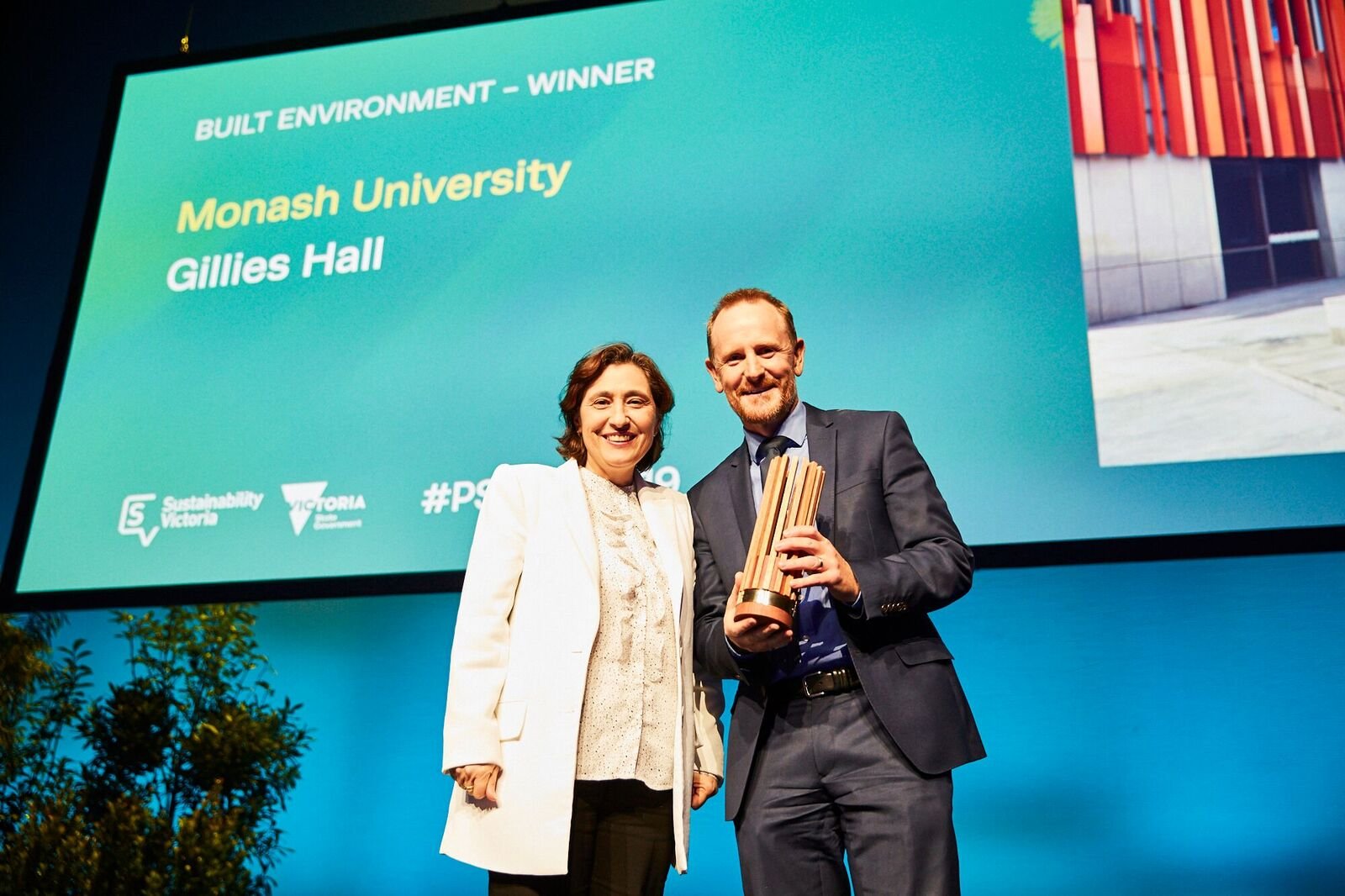 Gillies Hall wins Victorian Premier's Sustainability Awards