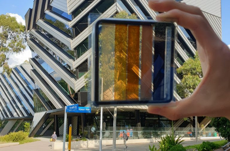Research scientists develop windows that generate electricity