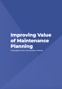 Improving Value of Maintenance Planning