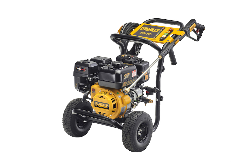 DeWalt introduces new 3400PSI, 9.4Lpm pressure washer