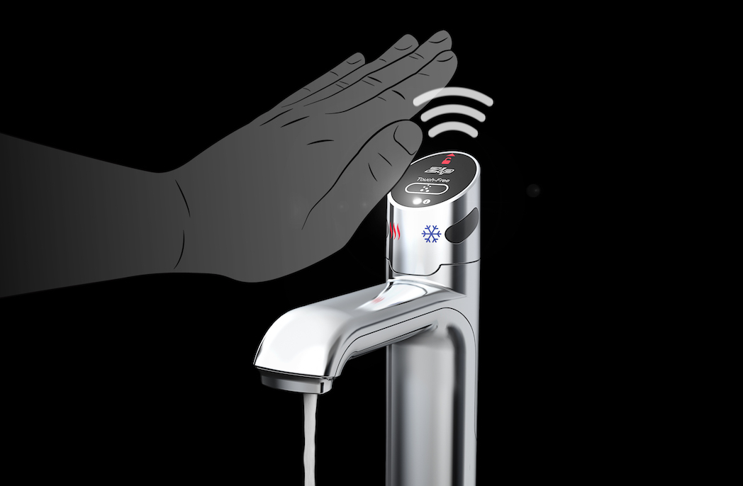 Zip Water launches contactless solution for touch-free workplaces